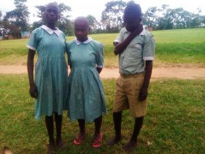 The Water Project:  Students Afeected By Jigger Infection At The School