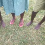 The Water Project: Eshisenye Primary School -  Students With Bare Feet