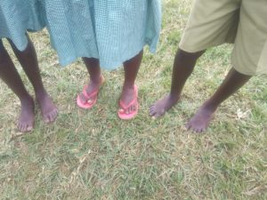 The Water Project:  Students With Bare Feet