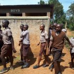 The Water Project: Shitaho Community School -  Boys At Latrines