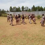 The Water Project: Shitaho Community School -  Girls Play Outside