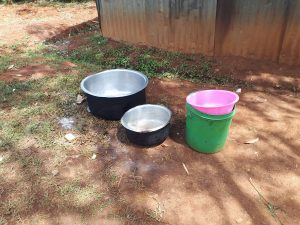 The Water Project:  Kitchen Pots And Water Bucket