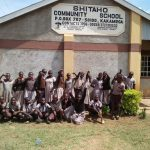 Shitaho Community School Project Underway