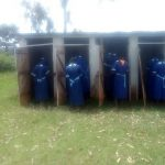 The Water Project: Matsigulu Primary School -  Girls Line Up For Latrines