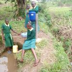 The Water Project: Imbale Primary School -  Girls Post By Spring