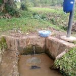 The Water Project: Imbale Primary School -  Spring Where Students Fetch Water