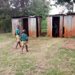 The Water Project: Imbale Primary School -  Students Walk To Latrines