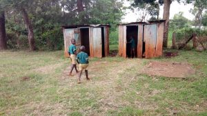 The Water Project:  Students Walk To Latrines