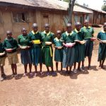 The Water Project: Imbale Primary School -  Students With Their Meals