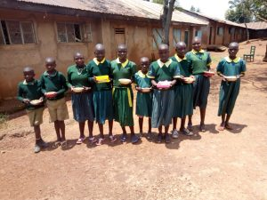 The Water Project:  Students With Their Meals