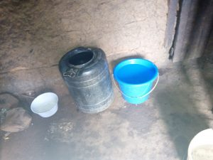 The Water Project:  Water Storing Containers