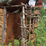 The Water Project: Matsakha Community, Siseche Spring -  Sample Latrine