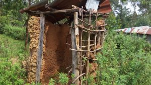 The Water Project:  Sample Latrine