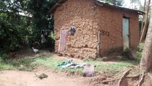 The Water Project:  Clothes Line And Clothes Drying On The Ground