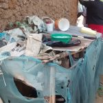 The Water Project: Luvambo Community, Timona Spring -  Dish Drying Rack
