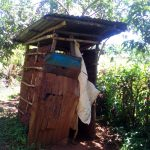 The Water Project: Musutsu Community -  Sample Latrine