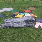 The Water Project: Emachembe Community -  Clothes Left To Dry On The Ground