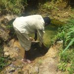 The Water Project: Emachembe Community -  Drawing Water At The Spring