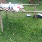 The Water Project: Emachembe Community -  Sample Dishrack