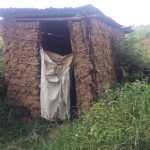 The Water Project: Emachembe Community -  Sample Latrine
