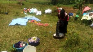 The Water Project:  Woman Washing Clothes