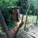 The Water Project: Chegulo Community, Yeni Spring -  Latrine
