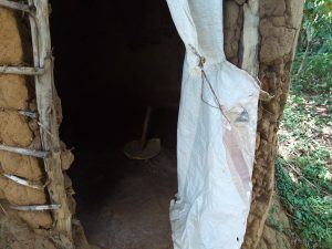 The Water Project:  Latrine Interior