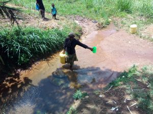 The Water Project:  Preparing To Collect Water