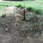 The Water Project: Muyundi Community A -  A Dumpsite At An Open Compound