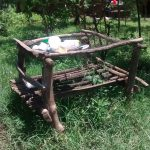 The Water Project: Ewamakhumbi Community, Yanga Spring -  Dish Drying Rack