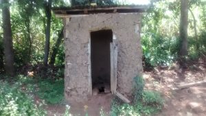 The Water Project:  Latrine With Broken Door