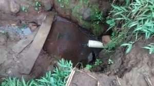 The Water Project:  Water Source For Yanga Spring