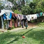 The Water Project: Emachembe Community, Hosea Spring -  Clothesline