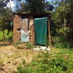 The Water Project: Emachembe Community, Hosea Spring -  Latrine