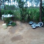 The Water Project: Chegulo Community, Werabunuka Spring -  An Improvised Dishrack