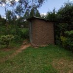 The Water Project: Chegulo Community, Werabunuka Spring -  Latrine