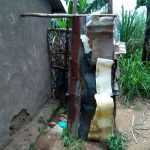The Water Project: Chegulo Community, Werabunuka Spring -  Sample Bathroom