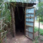 The Water Project: Chegulo Community B -  Sample Latrine In The Community