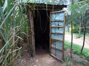 The Water Project:  Sample Latrine In The Community