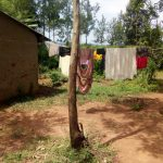 The Water Project: Isembe Community, Amwayi Spring -  Clothesline