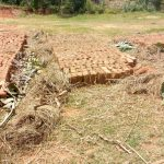 The Water Project: Emaka Community, Ateka Spring -  Bricks Made From Clay Drying Before They Are Baked