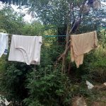 The Water Project: Lunyi Community, Fedha Mukhwana Spring -  Clothes Drying On Line