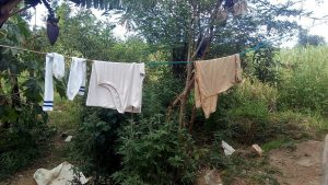 The Water Project:  Clothes Drying On Line