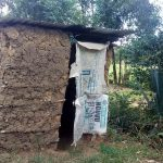 The Water Project: Lunyi Community, Fedha Mukhwana Spring -  Latrine