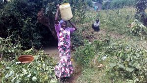 The Water Project:  Lifting Up Jerrycan Of Water