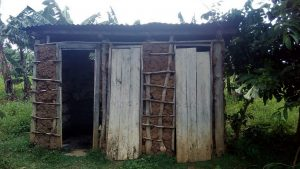 The Water Project:  Sample Latrines In This Commuinty