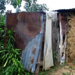 The Water Project: Shirugu Community, Shapaya Mavonga Spring -  Latrine With Metal Roof And Siding