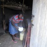 The Water Project: Shirugu Community, Shapaya Mavonga Spring -  Using Water In The Kitchen