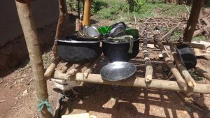 The Water Project:  Pots And Pans Drying Rack