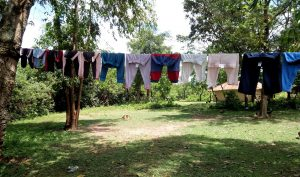 The Water Project:  A Cloth Hangline